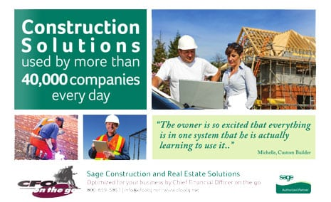 CFO on the go Construction Solutions