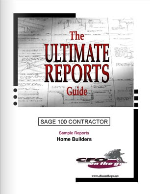 Ultimate Reports Giude: Home Builders