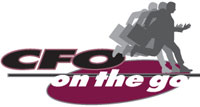 CFO on the go logo
