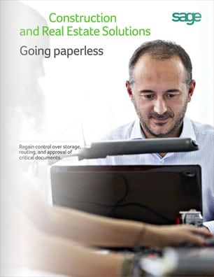 Sage Construction and Real Estate Solutions: Going Paperless